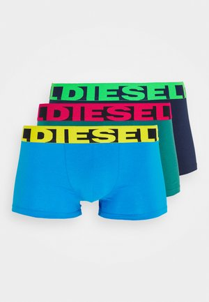 SHAWN 3 PACK - Pants - blue/green