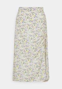Hollister Co. - A-line skirt - white - 4