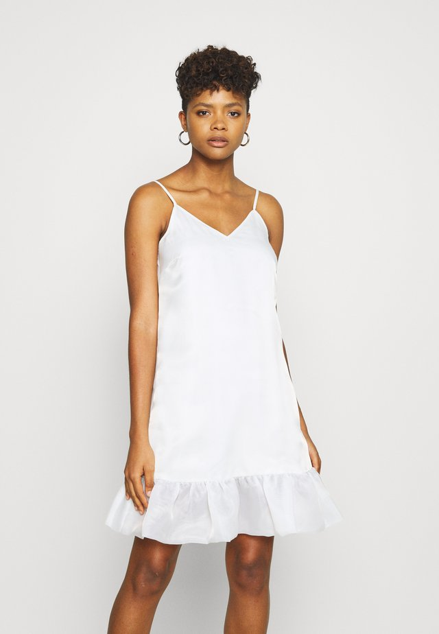 BOTTOM DRESS - Cocktail dress / Party dress - white