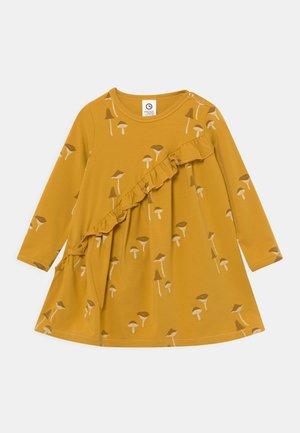 CHANTERELLE DRESS BABY - Jersey dress - mustard