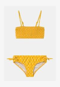 Seafolly - GARDEN BOUQUET SHIRRED SET - Bikini - marigold - 0