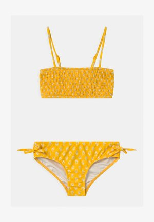 GARDEN BOUQUET SHIRRED SET - Bikini - marigold