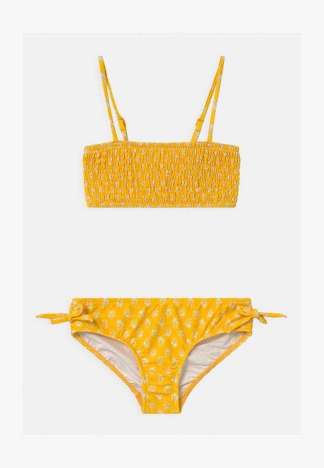 GARDEN BOUQUET SHIRRED SET - Bikini - marigold