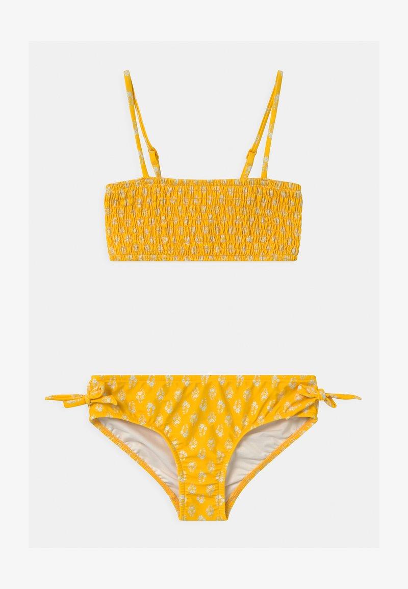 Seafolly - GARDEN BOUQUET SHIRRED SET - Bikini - marigold