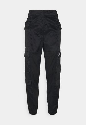 HEATWAVE UTILITY PANT - Cargo trousers - black/white