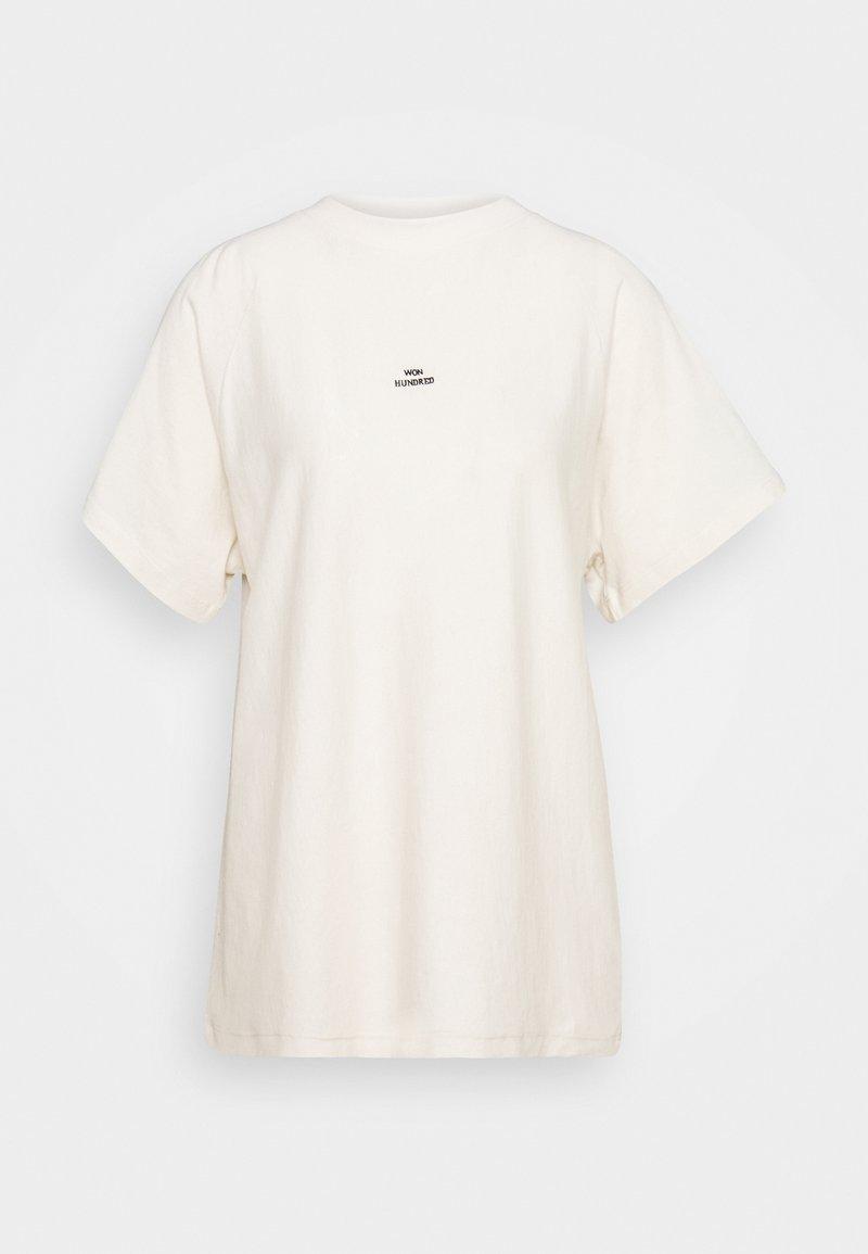 Won Hundred - BROOKLYN - T-Shirt print - ecru