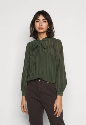 OBJGUNNA PETIT - Blouse - forest night