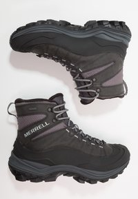 Merrell - THERMO CHILL WP - Winter boots - black - 1
