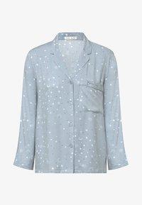OYSHO - STAR SHIRT - Pyjama top - light blue - 5