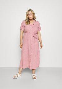 Glamorous Curve - DRESS - Shirt dress - rosa - 0