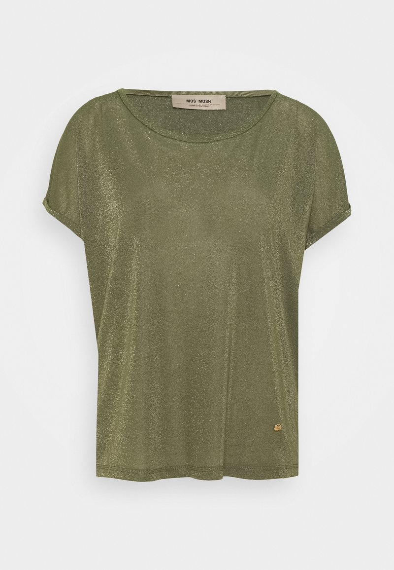 Mos Mosh - KAY TEE - Print T-shirt - capulet olive