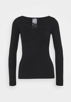 ONLKIRA LIFE TOP  - Long sleeved top - black