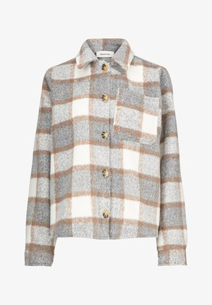 Light jacket - grey brown check