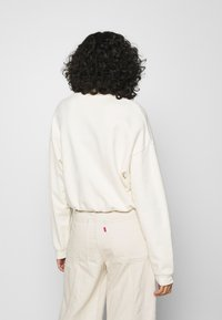 Levi's® - POM QUARTER ZIP - Sweatshirt - off white - 2