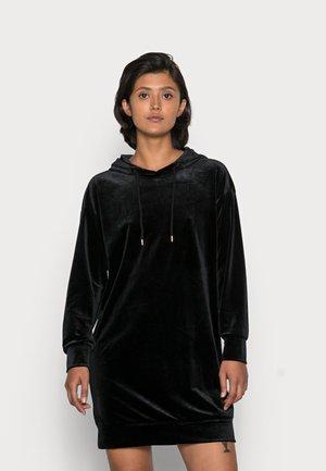 VMDANA HOODIE DRESS  - Vardagsklänning - black