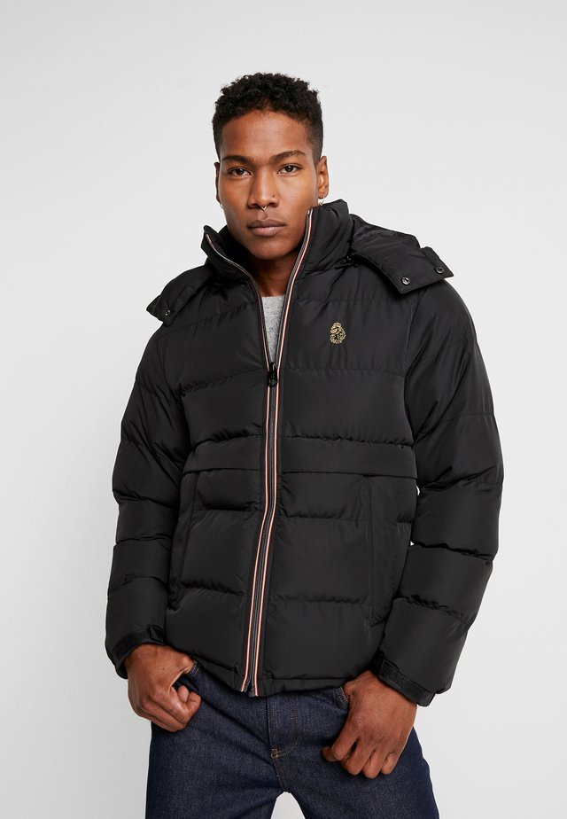 MALLARD - Winter jacket - all black