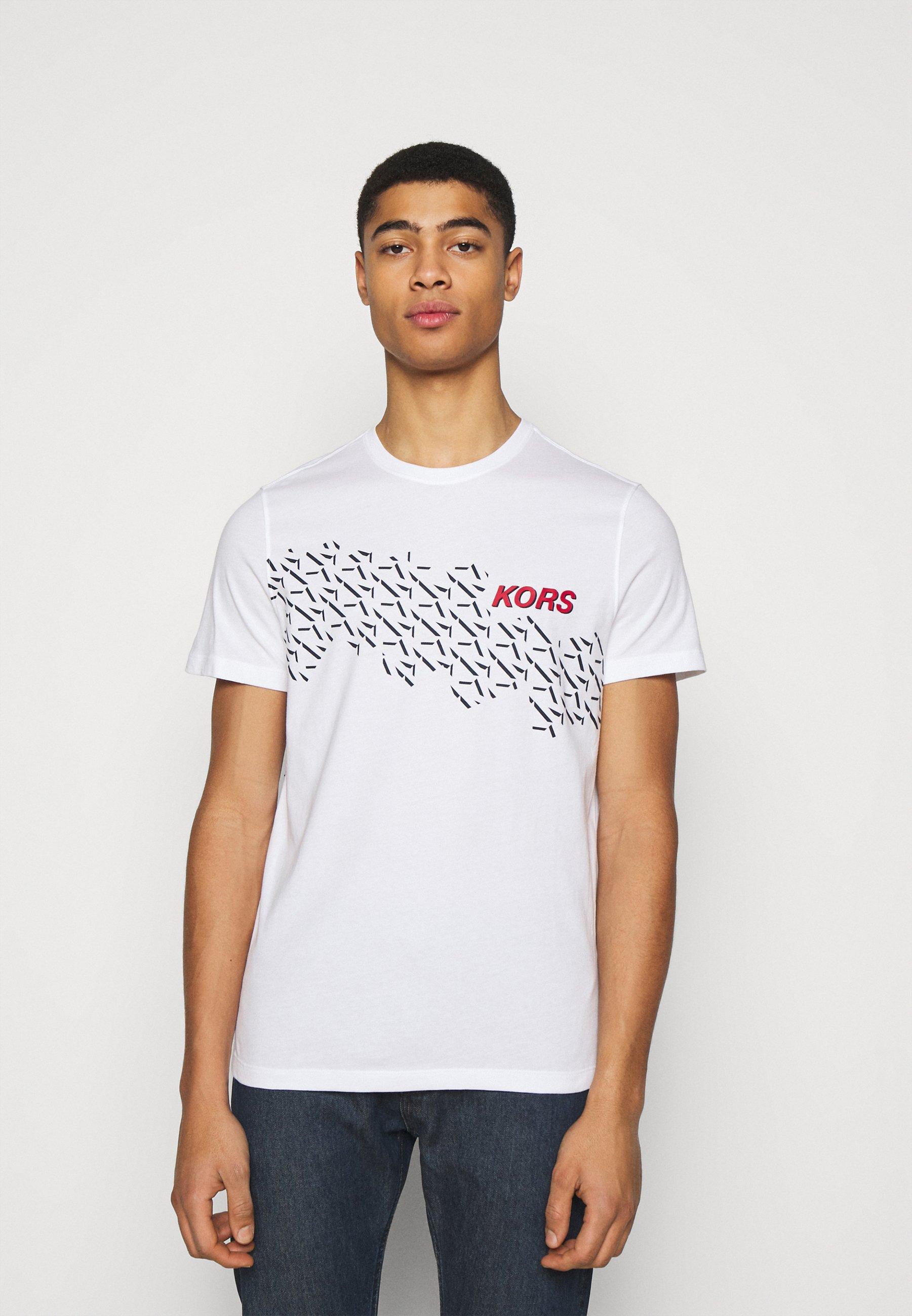 Homme SHADOW LOGO TEE - T-shirt imprimé