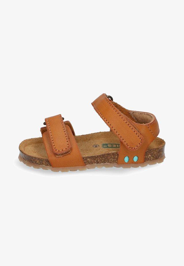 BAS BEACH - Sandalen - brown