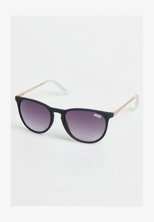 ELLEN  - Sonnenbrille - rubberised black/gold