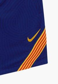 Nike Performance - FC BARCELONA - Sports shorts - deep royal blue/amarillo - 4