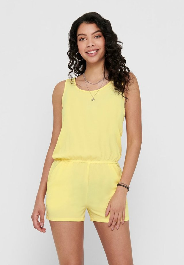 PLAYSUIT ÄRMELLOSER - Mono - pineapple slice