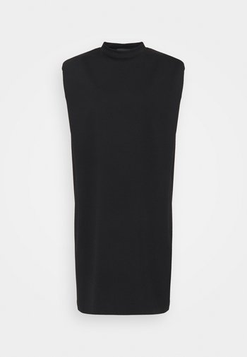 VALONA - Jerseyklänning - schwarz