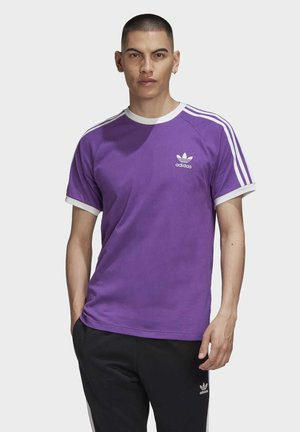 3-STRIPES T-SHIRT - Print T-shirt - purple