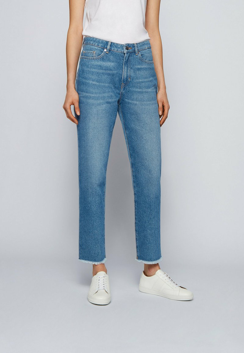 BOSS - Flared Jeans - blue
