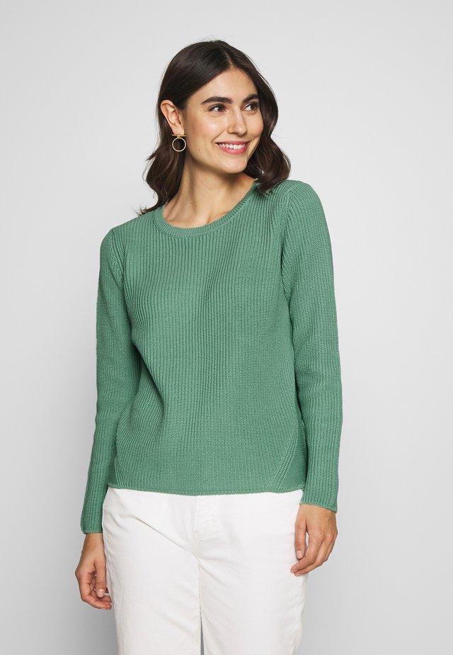Pullover - granite green
