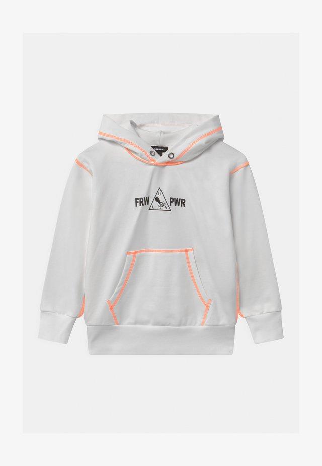 SALBYSEAM OVER UNISEX - Sweatshirt - white