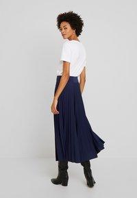 Anna Field - Plisse A-line midi skirt - Spódnica trapezowa - maritime blue - 2