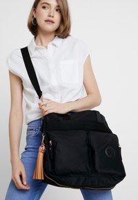 Kipling - ESIANA - Tote bag - rose/black - 7