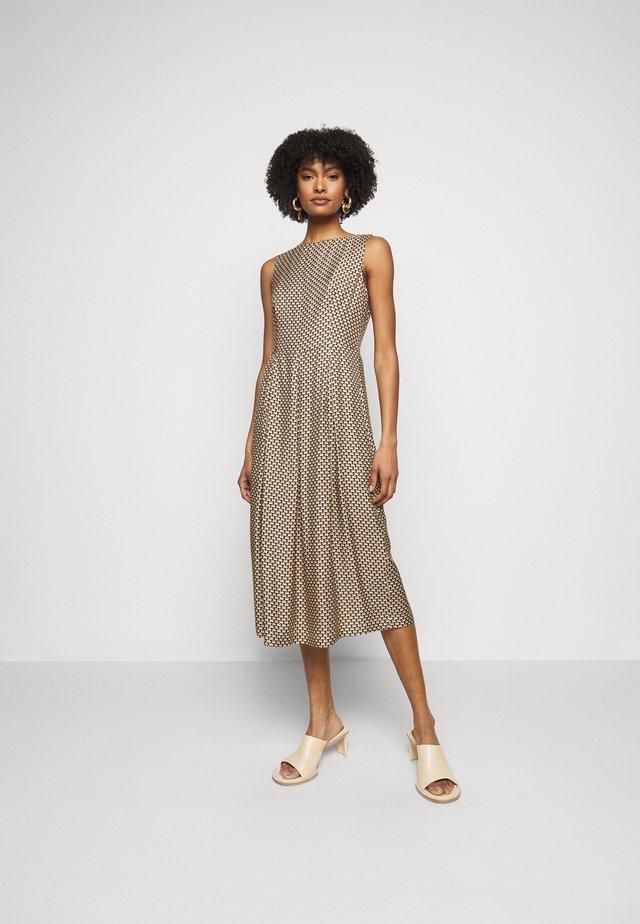 ONY - Sukienka letnia - beige print