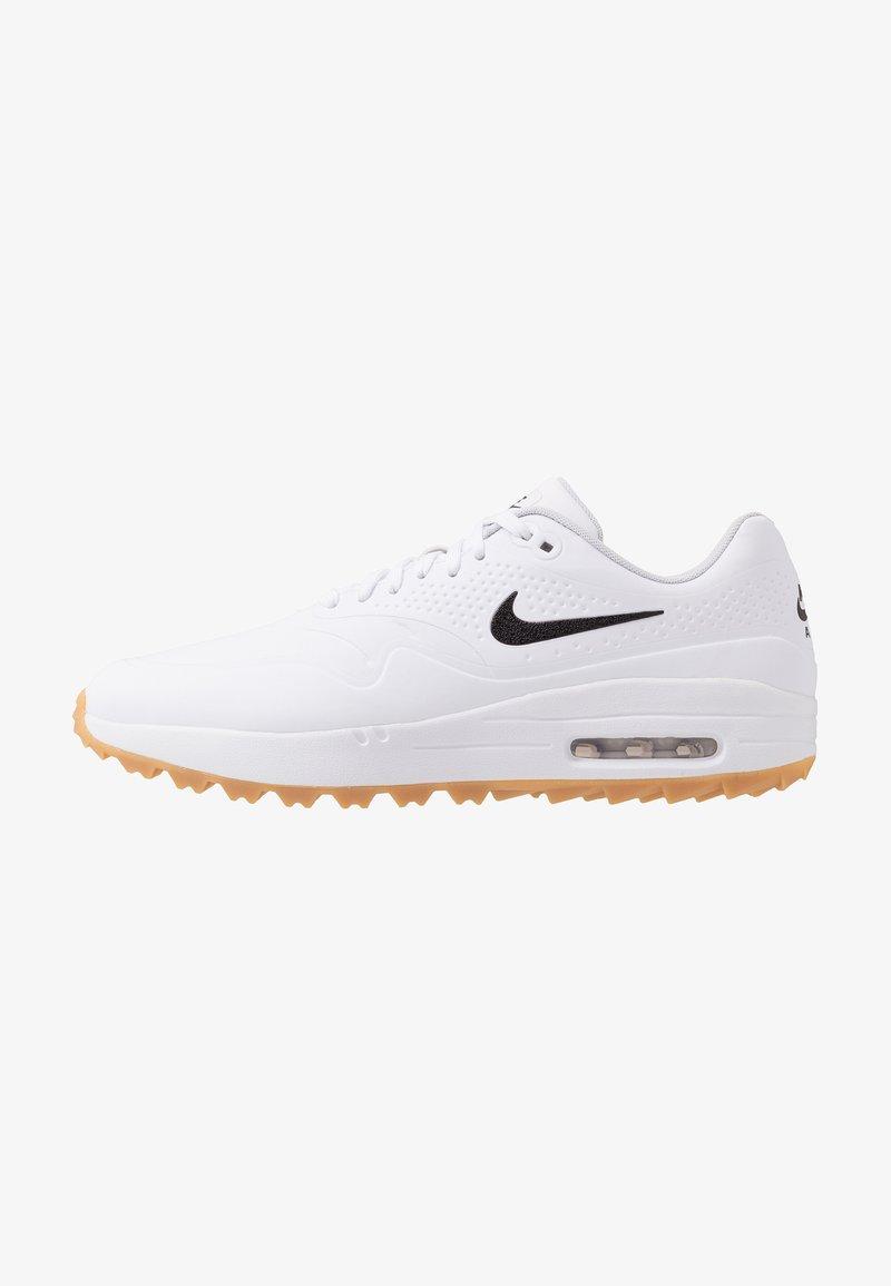 Nike Golf - AIR MAX 1 G - Golfskor - white/light brown