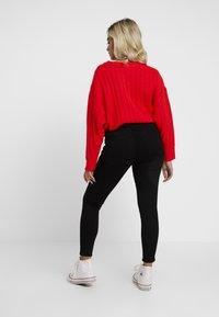 Topshop Petite - JONI - Jeans Skinny Fit - pure black - 2