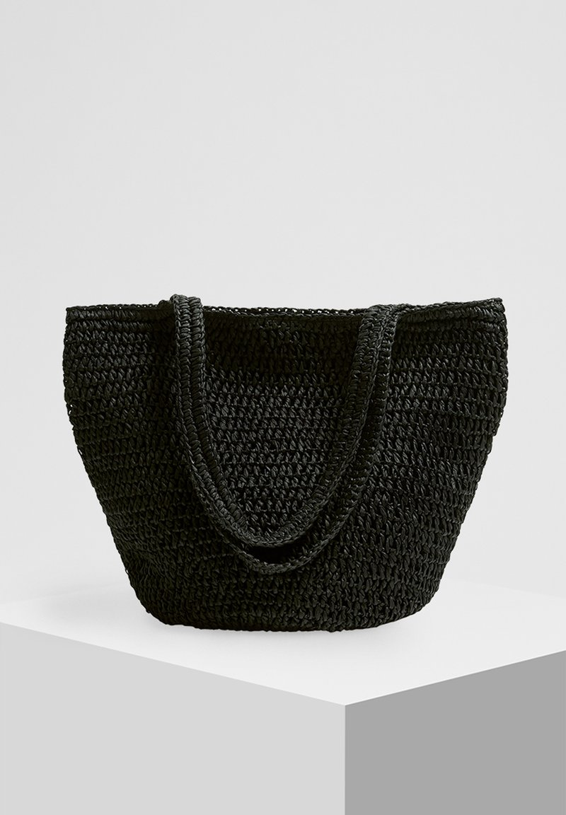PULL&BEAR - Shopping bag - black