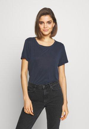RYNAH - T-shirt basic - navy