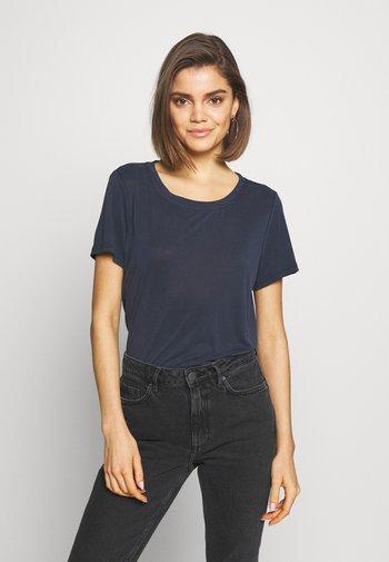 RYNAH - Basic T-shirt - navy