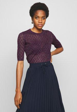 DELON - T-shirt imprimé - violet