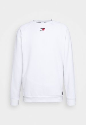 TAPE CREW - Sweatshirt - white