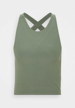 BARE CROSS BACK - Top - green