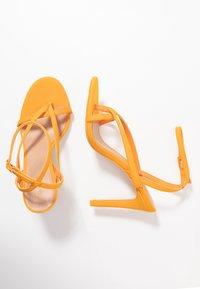 Call it Spring - ZELDAA - Sandalias de tacón - bright orange - 3
