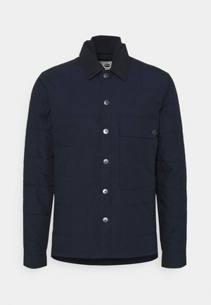 QUILTED OVERSHIRT - Light jacket - mazarine blue
