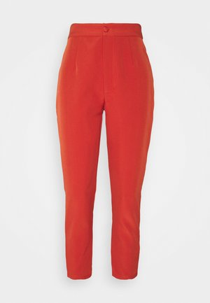 TAILORED CIGARETTE TROUSER - Trousers - orange