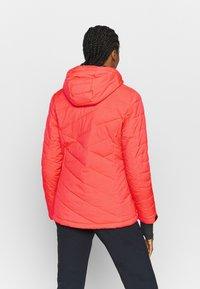 Killtec - SAVOGNIN QUILTED - Ski jacket - neon coral - 2