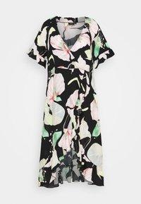 Zizzi - XLONELA DRESS - Day dress - black - 0