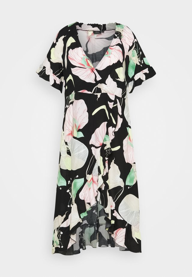XLONELA DRESS - Korte jurk - black