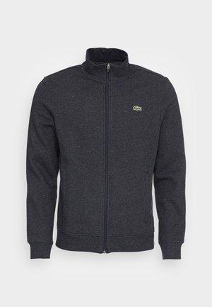 Zip-up sweatshirt - lightning chine