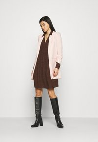 Esprit - EASY TUNIC DRESS - Day dress - brown - 1