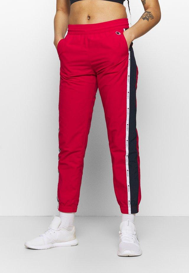 ELASTIC CUFF PANTS ROCHESTER - Pantaloni sportivi - red